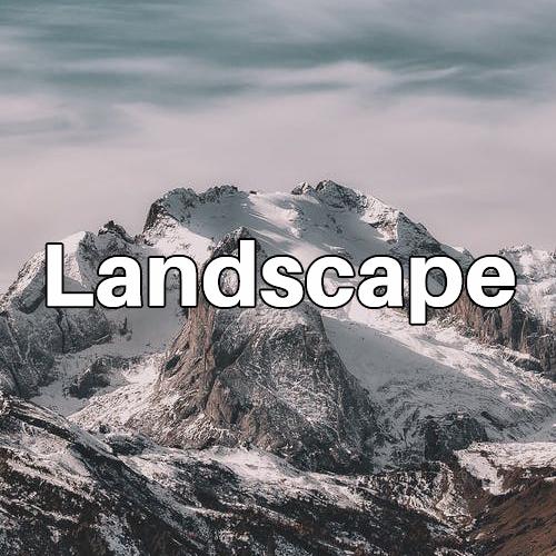 Landscape Button